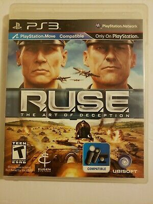 Ps3 Ruse The Art Of Deception Sony Playstation 3 No Manual 8888344278 Ebay Ruse Sony Playstation Playstation