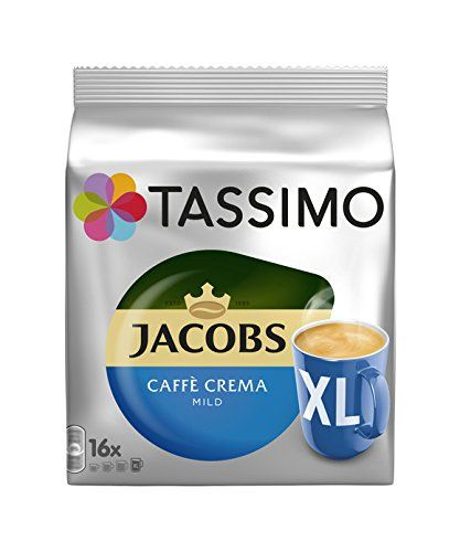 Tassimo Jacobs Caffe Creama Mild Xl Discs 1 Pack Details Can Be Found By Clicking On The Image This Is An Affiliate Lin Tassimo Tassimo Coffee Pods Caffe