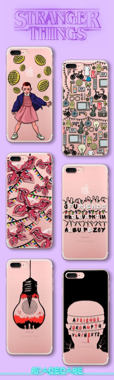 Stranger Things iPhone 8 iPhone X iPhone 7 Plus Eleven