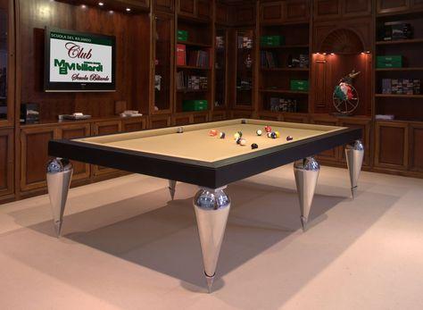 Tavolo snooker ~ Billiard table dinner billiard table pool billiard tavolo
