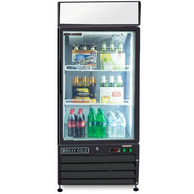 Maxxice X Series Merchandiser 12 Cu Ft All Refrigerator All Refrigerator Color Refrigerator Energy Star