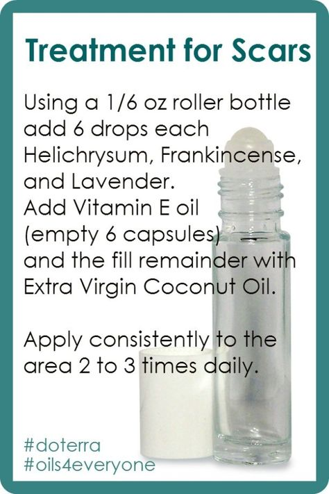 Treatment For SCARS with Essential OIL