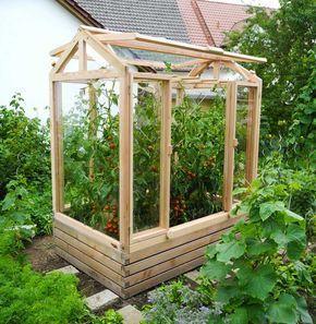 Tomatenhaus Das Besondere Gewachshaus Von Gartenfrosch Greenhouse Tomatoes Vegetable Garden Raised Beds Small Greenhouse