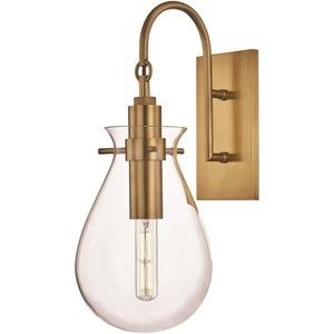 Becki Owens 1 Light Wall Sconce By Hudson Valley Lighting Bko100 Agb In 2020 Hudson Valley Lighting Sconces Led Wall Sconce
