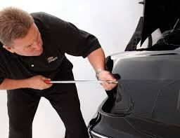 If Your Vehicle Is Damaged Due To Hail Or Has Dents That Need Fixing Visit Color Customs Collision In 2020 Auto Body Dent Repair Repair