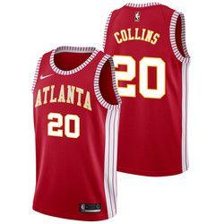 new styles 5367f 92c70 Atlanta Hawks Nike Classic Edition Swingman Jersey - John ...