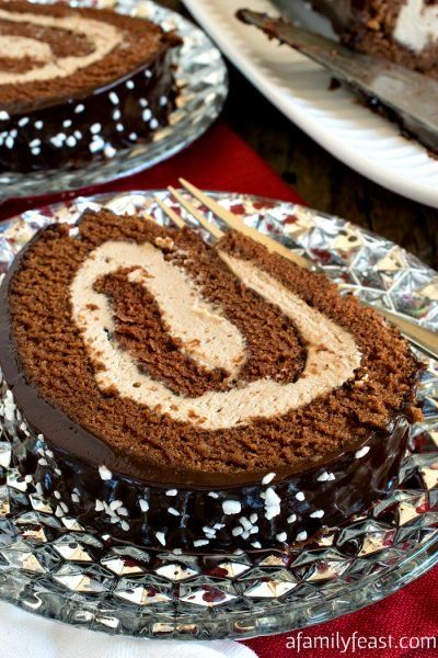 Condensed Milk Pound Cake A Family Feast Cake Roll Recipes Swiss Roll Best Christmas Recipes