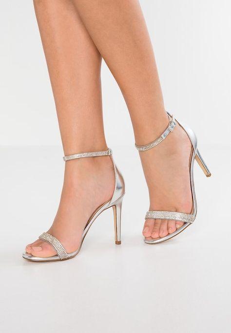 AROCLYA High heeled sandals silver @ Zalando.co.uk