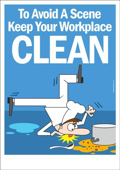 Keep Your Workplace Clean Safety Posters Health And Safety Poster Workplace Safety Slogans