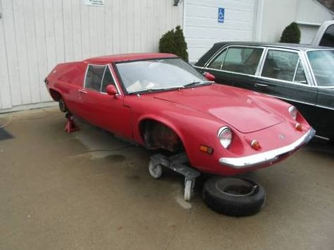 1969 Lotus Europa Project Front