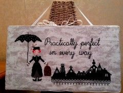 punro croce - Mary Poppins | cross stitch - Mary Poppins