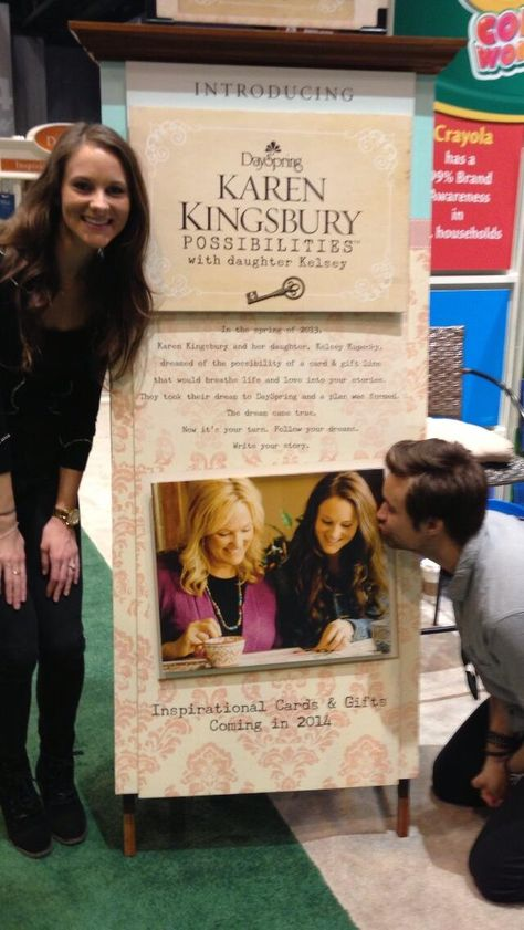 So proud of my wife :) her and @KarenKingsbury's card line will debut next Spring!!! - Kyle