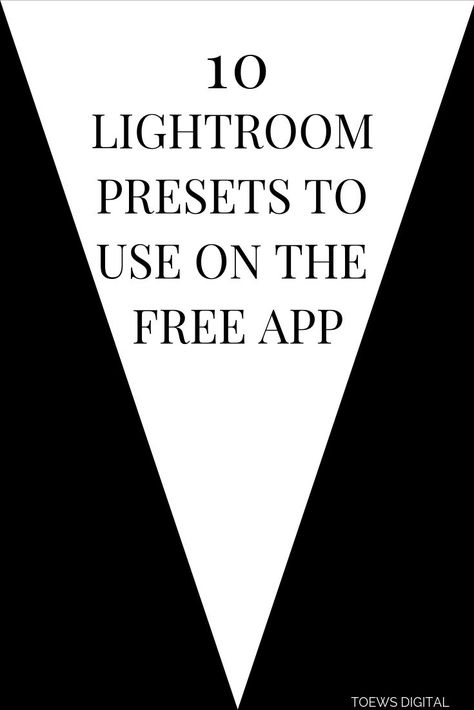 Our 10 Lightroom presets for the free mobile app will help you create a beautifully curated feed and keep your photo editing on point!
