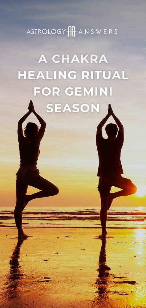 Let's use the positive energy of Gemini season to heal our chakras. #geminiseason #chakras #astrology