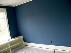 Same as the old house- Philipsburg Blue Benjamin Moore Historical color HC159