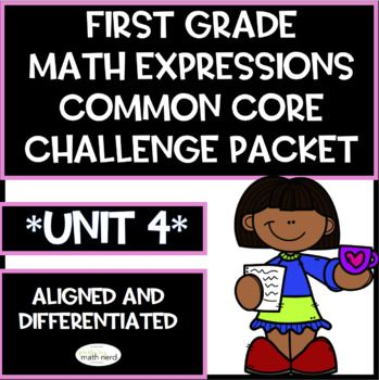 Does Your First Grade Class Use Houghton Mifflin Math Expressions Common Core Do Some Of Your Stu Math Expressions First Grade Math Math Activities Elementary