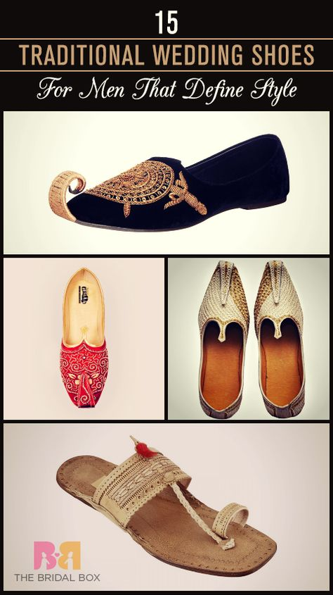 0cc00b7dde7 15 Traditional Wedding Shoes For Men That Define Style!