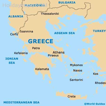 crete on map of europe Crete Map Europe   Time Zone Map   Crete map, Crete, Corfu map