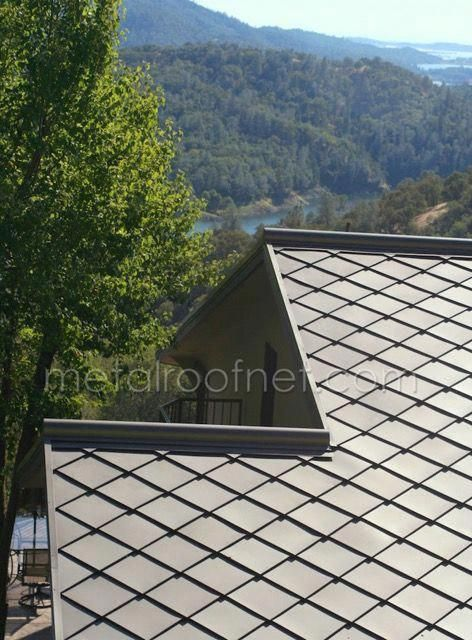 Metal Roof Network S Finished Steel Diamond Shingles Are Made With Cmg S Pre Finished Steel The Finished Steel Diamo In 2020 Best Solar Panels Metal Roof Solar Panels