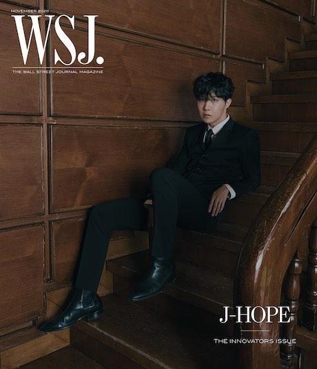 BTS Featured on Innovators | WSJ Magazine (Nov 2020) - J-Hope