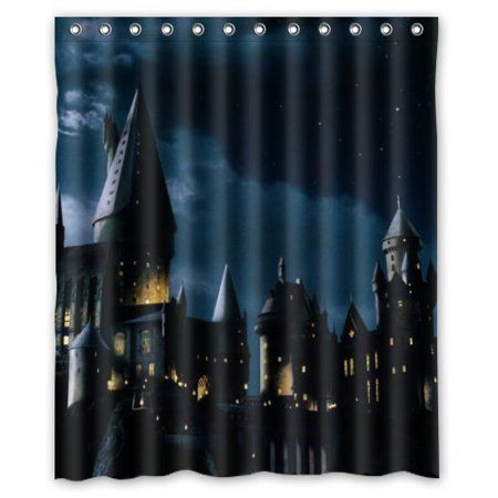 Free Shipping Buy Deyou Harry Potter Shower Curtain Polyester
