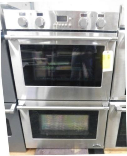 Factory Refurbished Dcs 30 Stainless Steel Double Convection Wall Oven