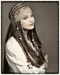 Pirate Hair Piraten Haar Piratenkostum Madchen Piratinnen