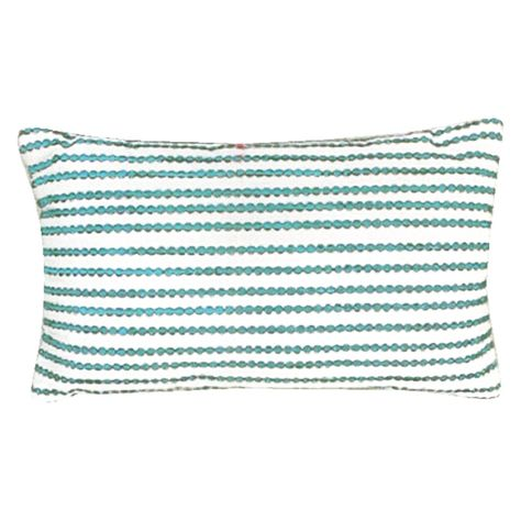 Sierra Accessories 12 X 20 Radiant Oblong Pillow Blue Oblong