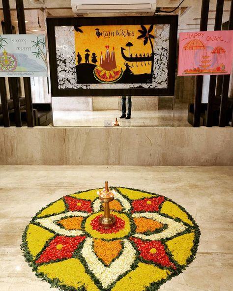 #click #onam #pookkalam #kerala #festival #instaclick