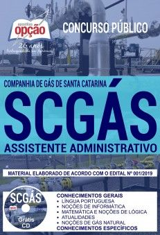 Apostila Preparatoria Concurso Companhia De Gas De Santa Catarina
