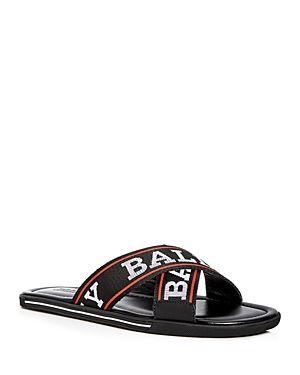 0b169f3063f3 BALLY MEN S BONKS LOGO SLIDE SANDALS.  bally  shoes