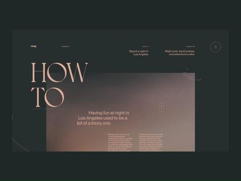Minimalist Website Design | Web Design Inspiration