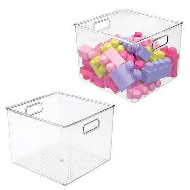 Plastic Kids Toy Storage Organizer Bin 10 X 10 X 7 75 Kid Toy Storage Toy Storage Modern Closet Organizers