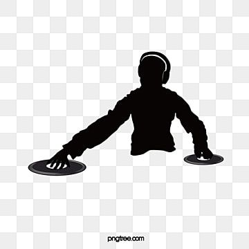 Dj Silhouette Material Dj Clipart Dj Silhouette Image Dj Silhouette Element Png And Vector With Transparent Background For Free Download Silhueta De Casamento Silhueta Png