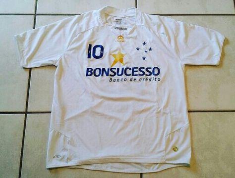 16015fc737b REEBOK Cruzeiro Brazil Soccer Jersey #jerseys #cruzeiro #futebol #soccer  #futbol #brazil #ebay #ebayseller