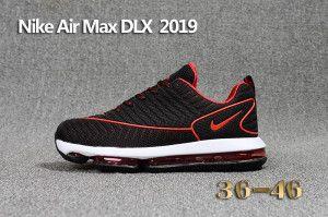 Nike air max dlx black rainbow red