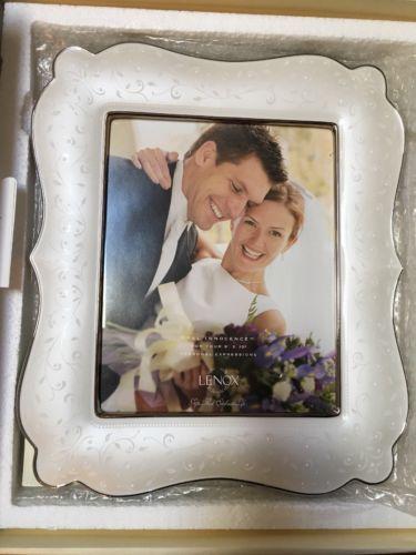 Lenox 6225924 Opal Innocence 8x10 Picture Frame Bnib Wedding Promises Wedding Picture Frames 8x10 Picture Frames Wedding Promises