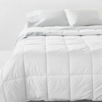 Full Queen Mid Weight Premium Down Alternative Hypoallergenic Machine Washable Comforter Casaluna Comforters Bedding Essentials Bed Sizes