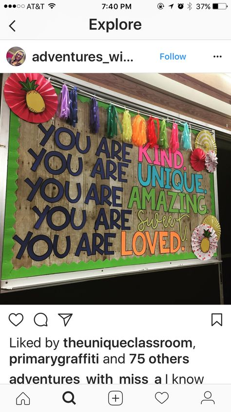 You are... bulletin board