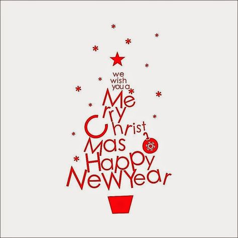 Red Merry Christmas Wall quotes decals Removable stickers decor art DIY mural
