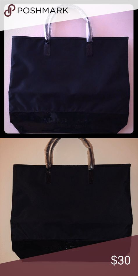 f32f903c825e Brand New Large Burberry Tote BRAND NEW! Black Burberry Tote it s HUGE! Burberry  Bags Totes