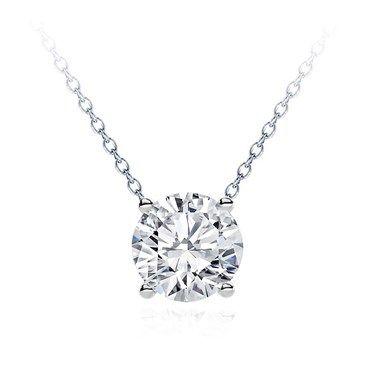 Modern Solitaire Diamond Necklace Setting Diamond Necklace Set Diamond Solitaire Necklace Solitaire Diamond Pendant