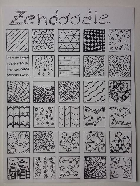 Art Discover artjournaling Some patterns I like :) Zentangle Drawings Doodle Drawings Doodle Art Zentangles Zen Doodle Easy Zentangle Patterns Doodle Patterns Tangle Doodle Tangle Art Easy Doodle Art, Doodle Art Designs, Doodle Art Drawing, Zentangle Drawings, Mandala Drawing, Zentangles, Arte Sharpie, Sharpie Doodles, Easy Zentangle Patterns