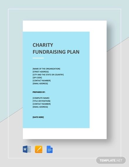 Fundraising Plan Template Free In 2020 Event Planning Quotes Charity Fundraising Quote Template