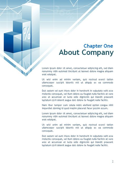 4988 - Word - Finance \ Corporate - Word Templates - DreamTemplate - corporate word templates