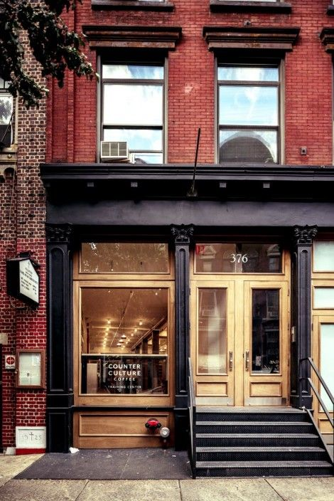 Storefront exterior inspiration by kristen storefront for Shop with apartment above