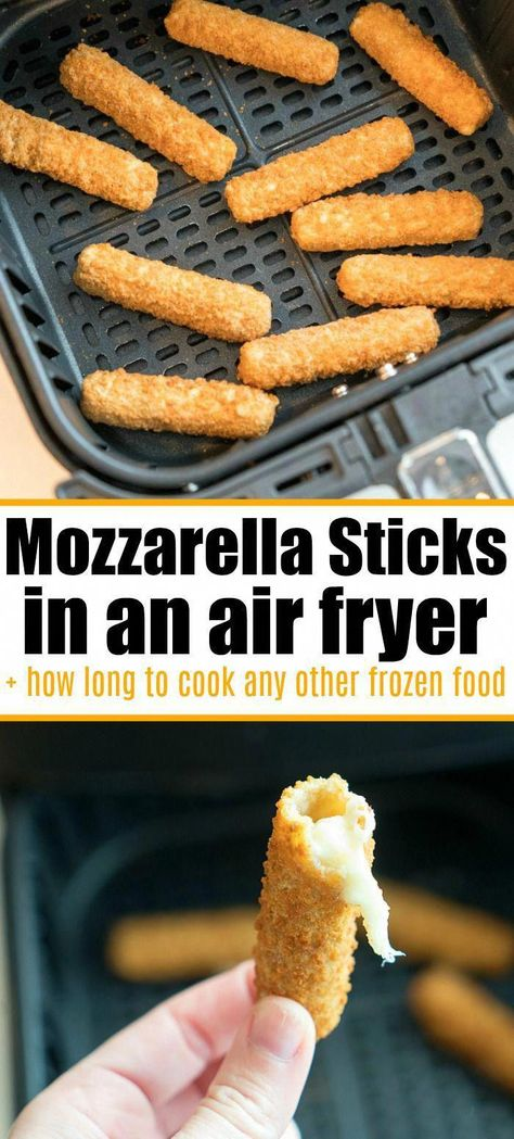 Air Fryer Recipes Appetizers, Air Fryer Recipes Low Carb, Air Fryer Dinner Recipes, Air Fryer Recipes Mozzarella Sticks, Air Fryer Cooking Times, Cooks Air Fryer, Emeril Air Fryer, Crockpot, Crock Pot