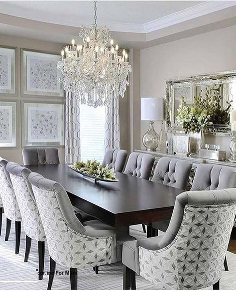 Fantastic Dining Room Decoration Ideas For 2019 Elegant Dining