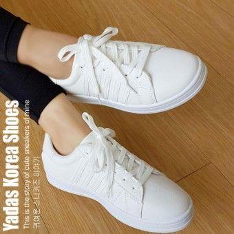 Best Shop Yadas Korea Sophia Sepatu Sneakers Wanita 5588 Whitekualitas Memuaskan Yadas Korea Sophia Sepatu Sneakers Wanita 5588 White Beli Sekarang Ya181faa