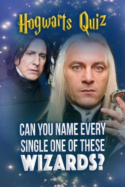 Hogwarts Quiz Can You Name Every Single One Of These Wizards Hogwarts Quiz Harry Potter Quizzes Trivia Harry Potter Character Quiz